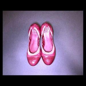 Tory Burch Bordeaux Gabby Cap Toe Ballet Flat